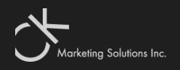 CK Marketing Solutions Inc
